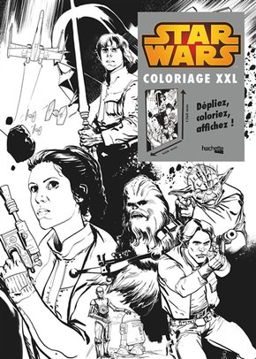 Coloriages XXL Star Wars