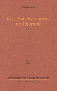 Les transformations de l'homme