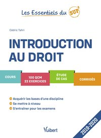 Introduction au droit - 2019-2020