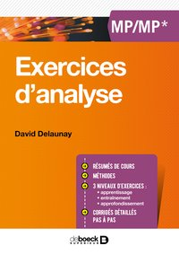 Exercices d'analyse - MP-MP*