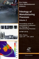 Tribology of Manufacturing Processes - Volume 2