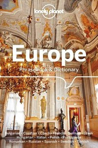 Europe phrasebook & dictionary 6ed -anglais-