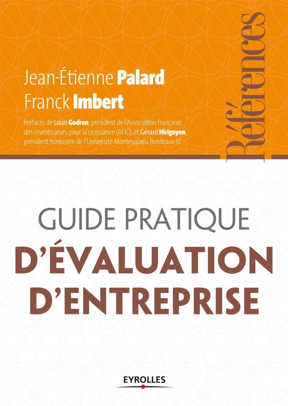 9b4973b7158 Guide pratique d évaluation d entreprise - Jean-Etienne Palard ...