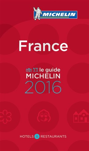 Le guide Michelin France - 2016