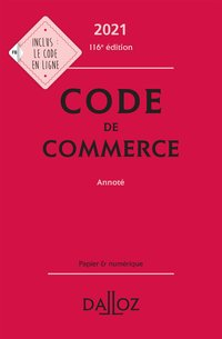 Code de commerce 2021