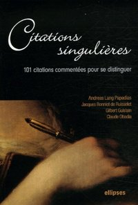 Citations singulières