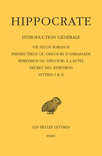 Tome i, 1re partie : introduction générale
