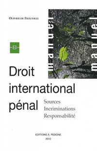 Droit international pénal