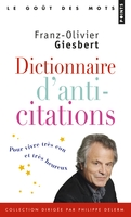 Dictionnaire d'anti-citations