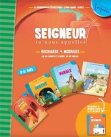 8-11 ans - recharge orange ( cd carnet de vie) - modules 1 à 4 - ne