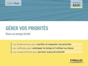 D.Noyé- Gérer vos priorités
