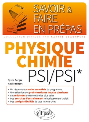 Physique-chimie PSI-PSI*
