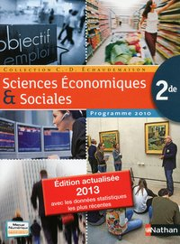 Sciences economiques & sociales 2de 2013 grand format