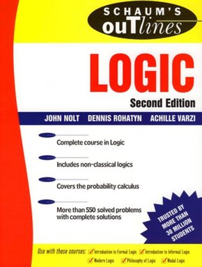 Theory and Problems of Logic