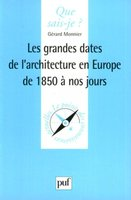 Les grandes dates de l'architecture en Europe de 1850 à nos jours