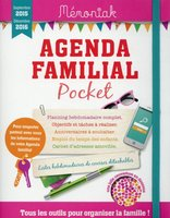 Agenda familial pocket 2016