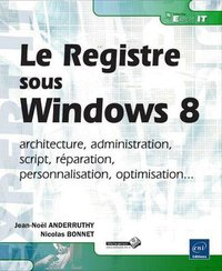 Le registre Windows 8