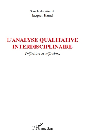 L'analyse qualitative interdisciplinaire