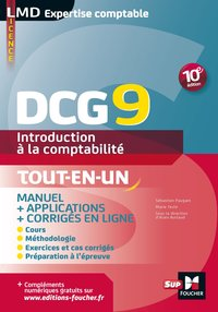 DCG 9 - Introduction à la comptabilité