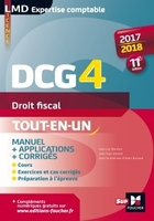 DCG 4 ; droit fiscal ; manuel et applications (édition 2017/2018)