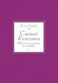 Carnet d'excuses