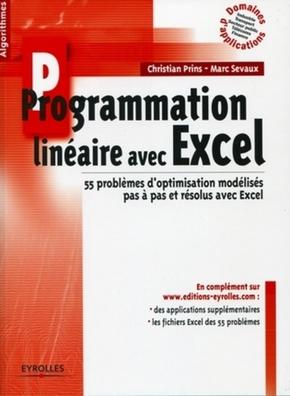 Christian Prins, Marc Sevaux- Programmation linéaire avec excel