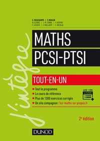 Maths - PCSI-PTSI