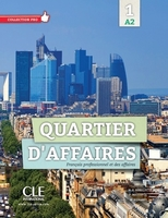 Quartier d'affaires 1 a2 eleve + dvd rom