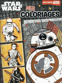 BB-8, Star Wars VII, mes coloriages