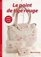 Le point de tige rouge