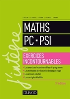Maths PC, PSI - Exercices incontournables