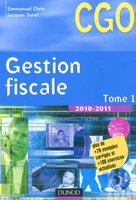 Gestion fiscale - Tome 1 - 2010/2011