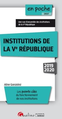 Institutions de la Ve République - 2019/2020