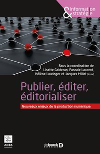 Publier editer editorialiser