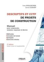 Y.Widloecher, D.Cusant - Descriptifs et CCTP de projets de construction