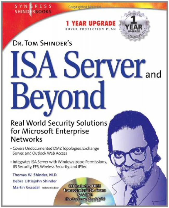 Dr  Tom Shinder's ISA Server and Beyond - T Shinder D Shinder    -  Librairie Eyrolles