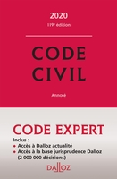 Code dalloz expert. code civil 2020