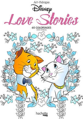 ART-THERAPIE ; love stories Disney ; mini blocs coloriages