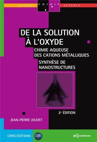 De la solution a l'oxyde 2 ieme edition