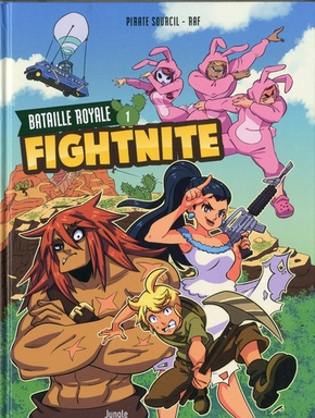 Fightnite bataille royale - Tome 1 les campeurs