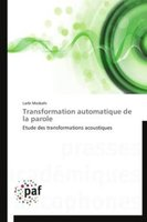 Transformation Automatique De La Parole