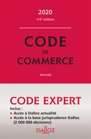 Code de commerce - 2020