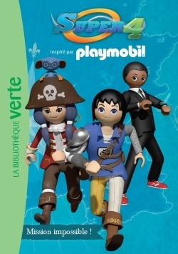 Playmobil super 4 03 - mission impossible !