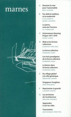 Marnes, documents d'architecture - n° 2