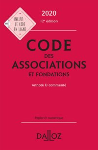 Code des associations et fondations