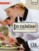 En cuisine a1-a2 livre + cd audio- collection pro