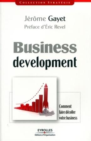 Jérôme Gayet- Business development