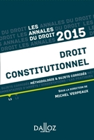 Annales droit constitutionnel 2015