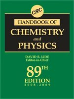 Handbook of Chemistry and Physics - 2008/2009