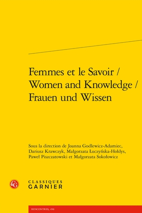 Femmes et le savoir / women and knowledge / frauen und wissen